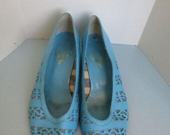 Blue Jacques Vert Court Shoes/ Pumps - Size 7 (US 9)