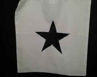 Cotton Bag 'Blackstar', David Bowie-inspired