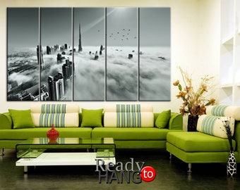 Dubai canvas, Dubai wall art, City canvas art, Dubai print, City wall art, Dubai print art, Dubai home decor, Dubai poster art, City canvas
