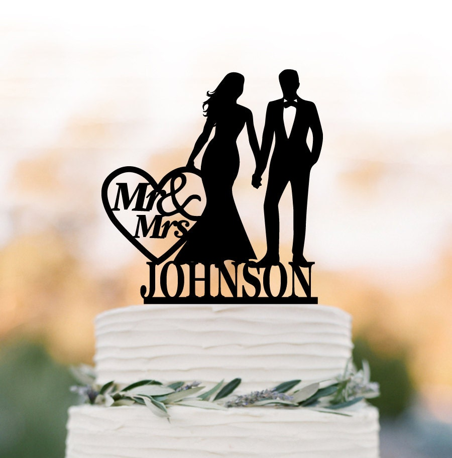 Wedding Cake Toppers Letters Uk : Personalized Wedding Cake topper letter Cake Toppers with