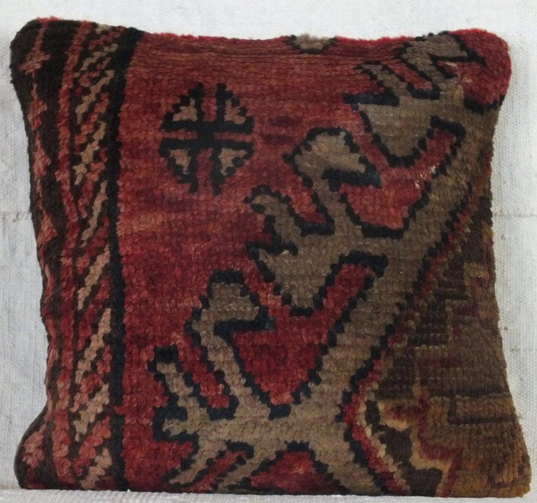 Turkish Rug Au: 16x16 Pillow Case Turkish Rug Pillow Boho Pillow