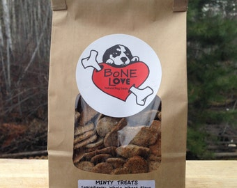 Minty Natural Dog Treats 400g