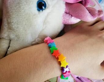 DDLG star beaded bracelet babygirl