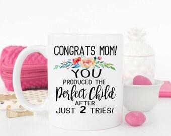 Funny Mothers Day Mug,  Favorite Child Mug, Gift for Mother's Day, Funny Mom Mug, Mom Birthday Gift, Mothers Day Mug
