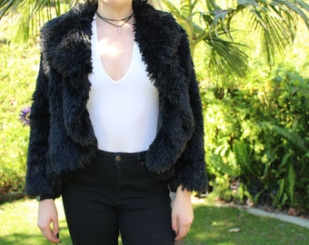 Black Fur Jacket