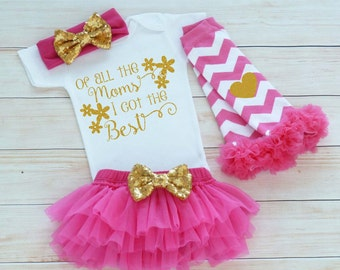 Mothers Day Baby Clothes, Baby Girl Mother's Day Outfit, Mother's Day Girl Outfit, My 1st Mothers Day, Mother's Day Shirt, Mother's Day 2017