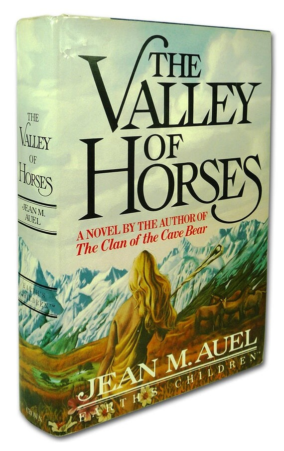 Valley of the Horses 1982 Jean M. Auel Signed 1st Edition Hardcover HC w/ Dust Jacket DJ Earth's Children - Clan of the Cave Bear Sequel