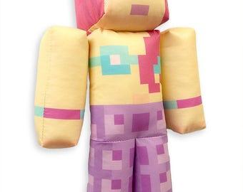 Amy Lee33 Minecraft Mermaid Plush Toy