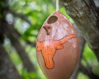 Longhorn Football Birdhouse