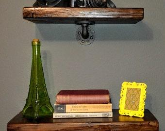 Rustic Wood Shelves. Set of 2.