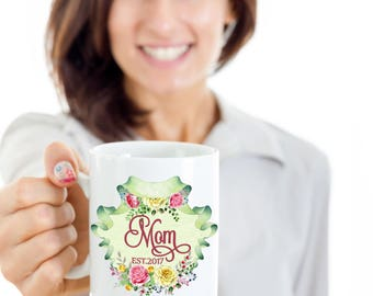 Mother Mom To Be Custom Coffee Mug | Customized Gifts, Customazable Gift Idea for Moms, Mother's Day Gifts, Mother's Day Idea, Mom's Mug