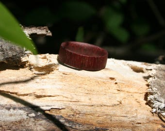 Amaranth Wood Ring