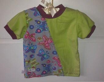T-Shirt Butterfly Gr. 74/80