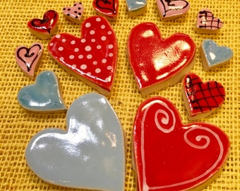 Lover's Heart Tile Mosaic Pack