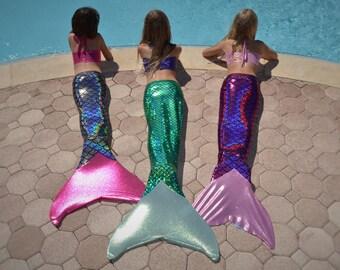 Mermaid Tail Swimsuits-Premium Scales