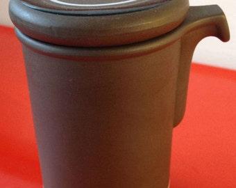 70's retro modernist Hornsea contrast vinegar pourer