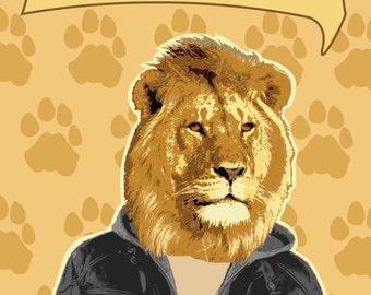 I'm Not Lion I Swear! Poster