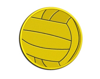 Volleyball Embroidery design Water polo Machine embroidery design - NushNusha shop