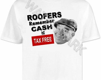 Roofers T shirt . shirts . tools . Roofing