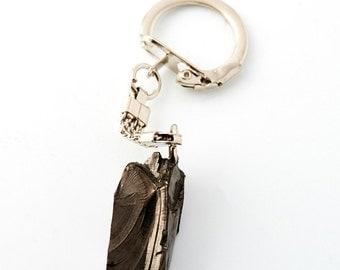 Shungite Keychain Elite shungite stone EMF protection and healing stone