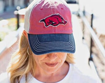 Arkansas Razorback Trucker Cap