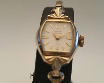 Vintage ladies GRUEN PRECISION wrist watch dating to the mid 1950's-----------SERVICED------