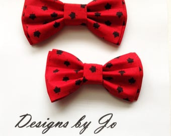 Bow Tie,Dad and Son Bow Tie, Canadiana Bow Tie, Father Son Bow Tie, Mens Bow Tie,Canada 150th Bow Tie, Mens Bowtie,Bowtie,Boys Bow Tie DS686