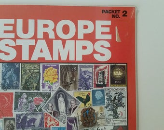 Europe Stamps in Collectors Package