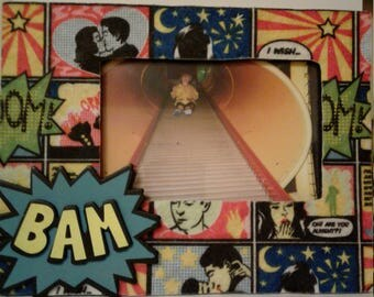 Comic Strip 4x6 Picture Frame