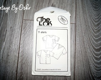 The Look Creative,Fashion Course Pack 7 Pattern 21- T-SHIRTS Sizes 8 10 12 14 16