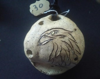 Eagle Ocarina Pendant