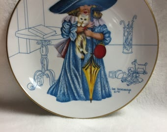 Fairmont Anne Hershenburgh Collector Plate - I'll Be Loved (#018)