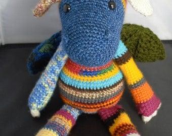 Spike the Crochet Dragon