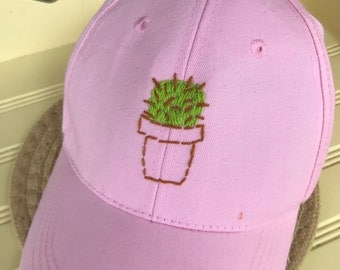 Potted Cactus Cap