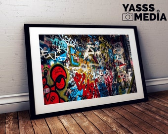 Fine Art Print: Graffiti