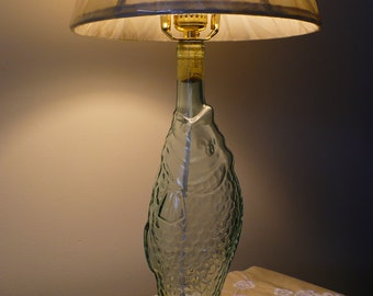 Glass Fish Lamp