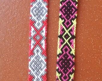 Braided bracelet, Handwoven bracelet, Wrist band, String bracelet, Knotted bracelet, Woven bracelet, Macrame, Friendship bracelet, Boho