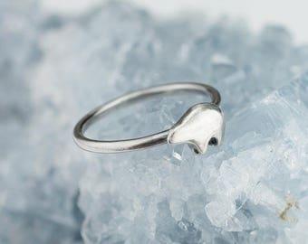 Sterling Silver Zuni Bear Ring Solid 925 Zuni Bear Rings Custom Sizes