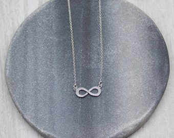 Chain silver plated infinity infinity