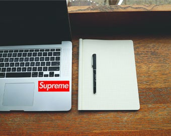 Supreme Sticker - Supreme Decal - Macbook Stickers - Car Decals