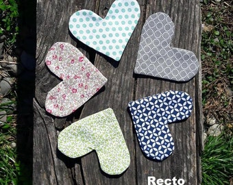 Bookmark heart • several patterns to choose from