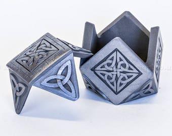 Cold cast Celtic Treasure Box