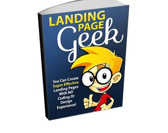 Landing Page Geek - Online Marketing Ebook