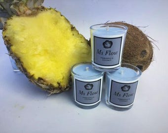 Ms Flow Pineapple & Coconut Candle
