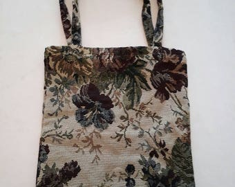 Tapestry Tote Bag Small Made in Germany Petit Sac Tapisserie Allemand