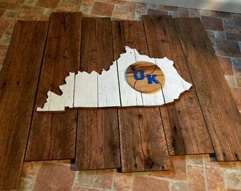 University of Kentucky Pallet Wall Art