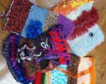 Twiddle, Muff, kits, Alzheimer's. dementia, autism, knit, crochet