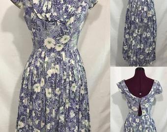 1950's | Jerry Gilder Summer Dress