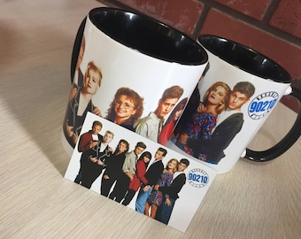 Beverly Hills 90210 Mug and Magnet