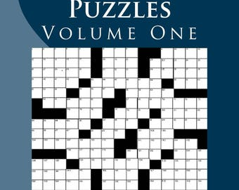 Ultimate Crossword Puzzles, Volume One in a PDF Format